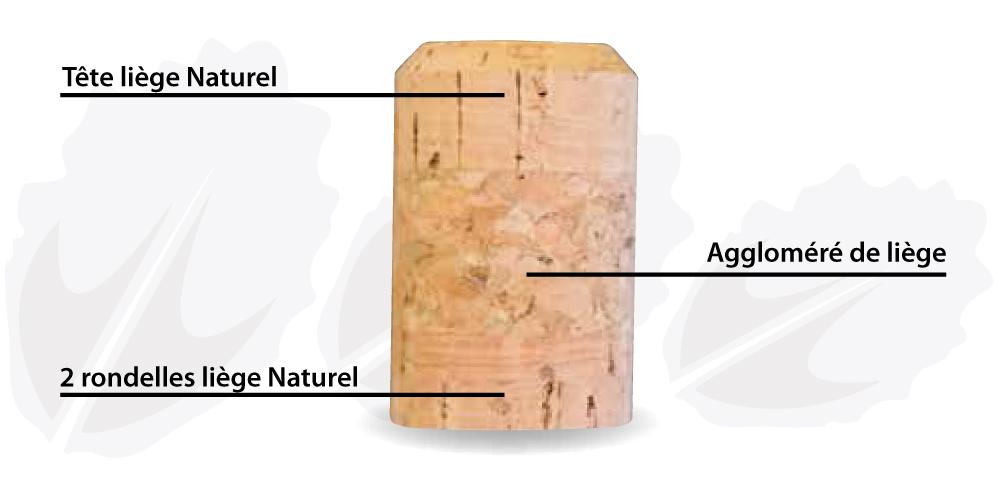 Bouchon esthétique et écologique natra50 by Barangé