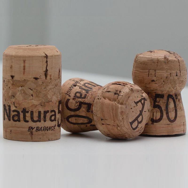 Bouchon liège écologique Natura50 par Barangé