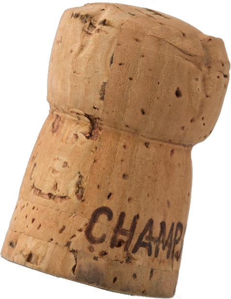 L'authentique bouchon à champagne