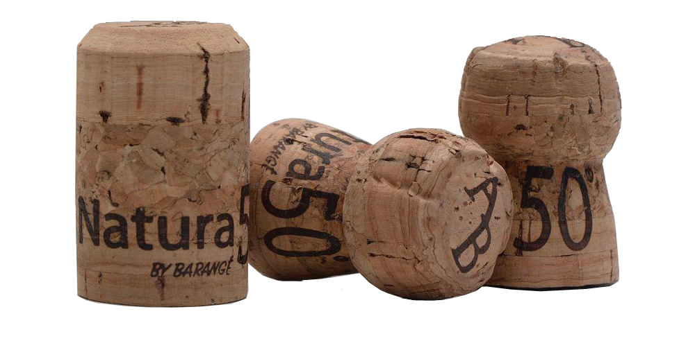 Natura 50 bouchon de liège -à champagne- écologique
