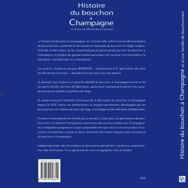 Histoire du bouchon à Champagne et d'une famille de bouchonniers - Le livre