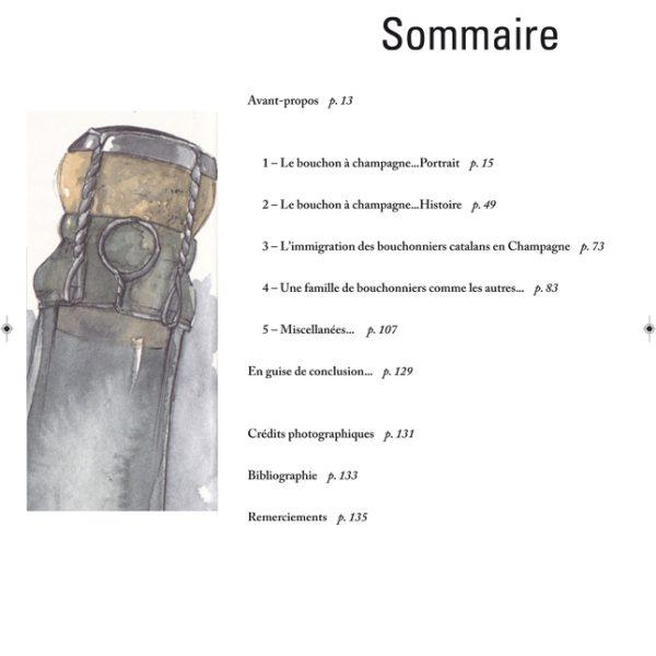 Histoire du bouchon à Champagne et d'une famille de bouchonniers - Sommaire