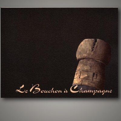 Livret illustré Le Bouchon à Champagne par Barangé